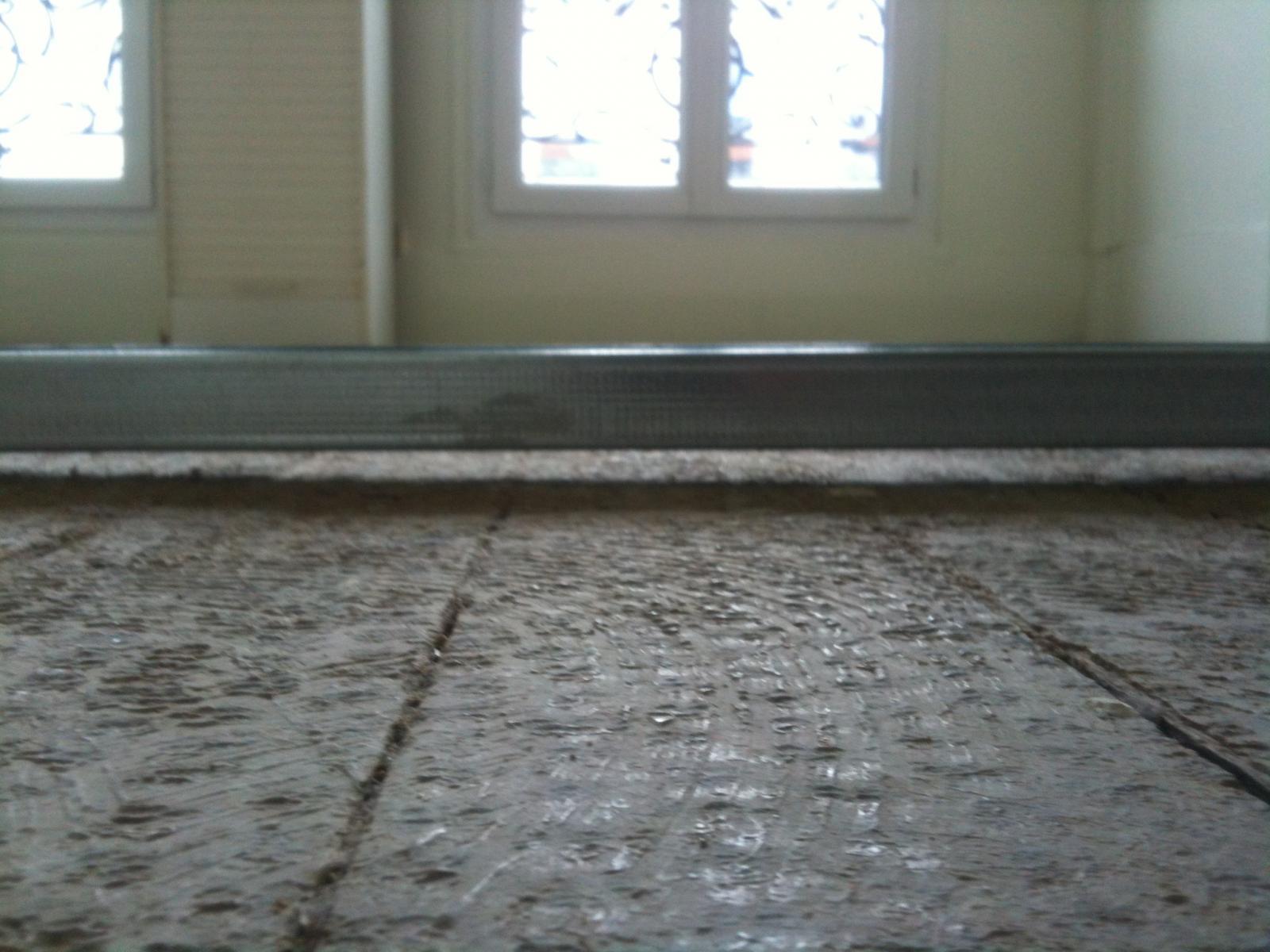 attractive ragreage sur plancher bois 12 ragr 233 age sur bois avant parquet flottant conseils