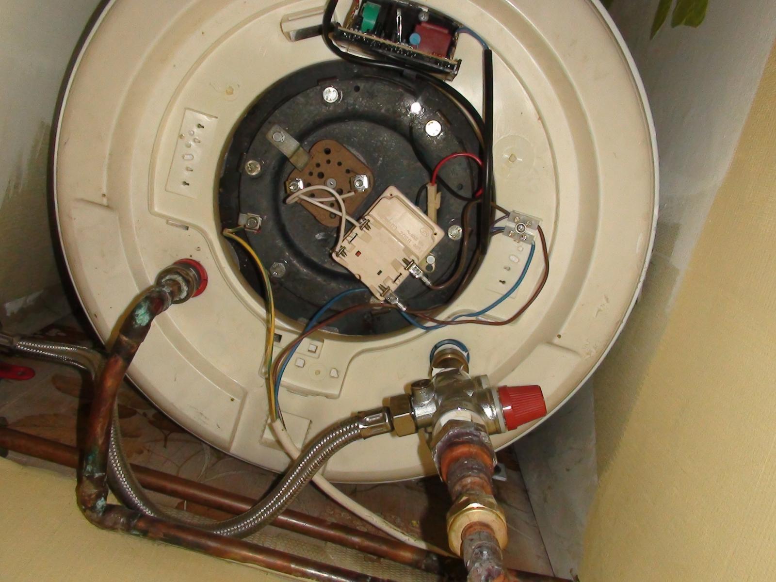 Chauffe eau lectrique en panne - Reglage temperature chauffe eau electrique ...