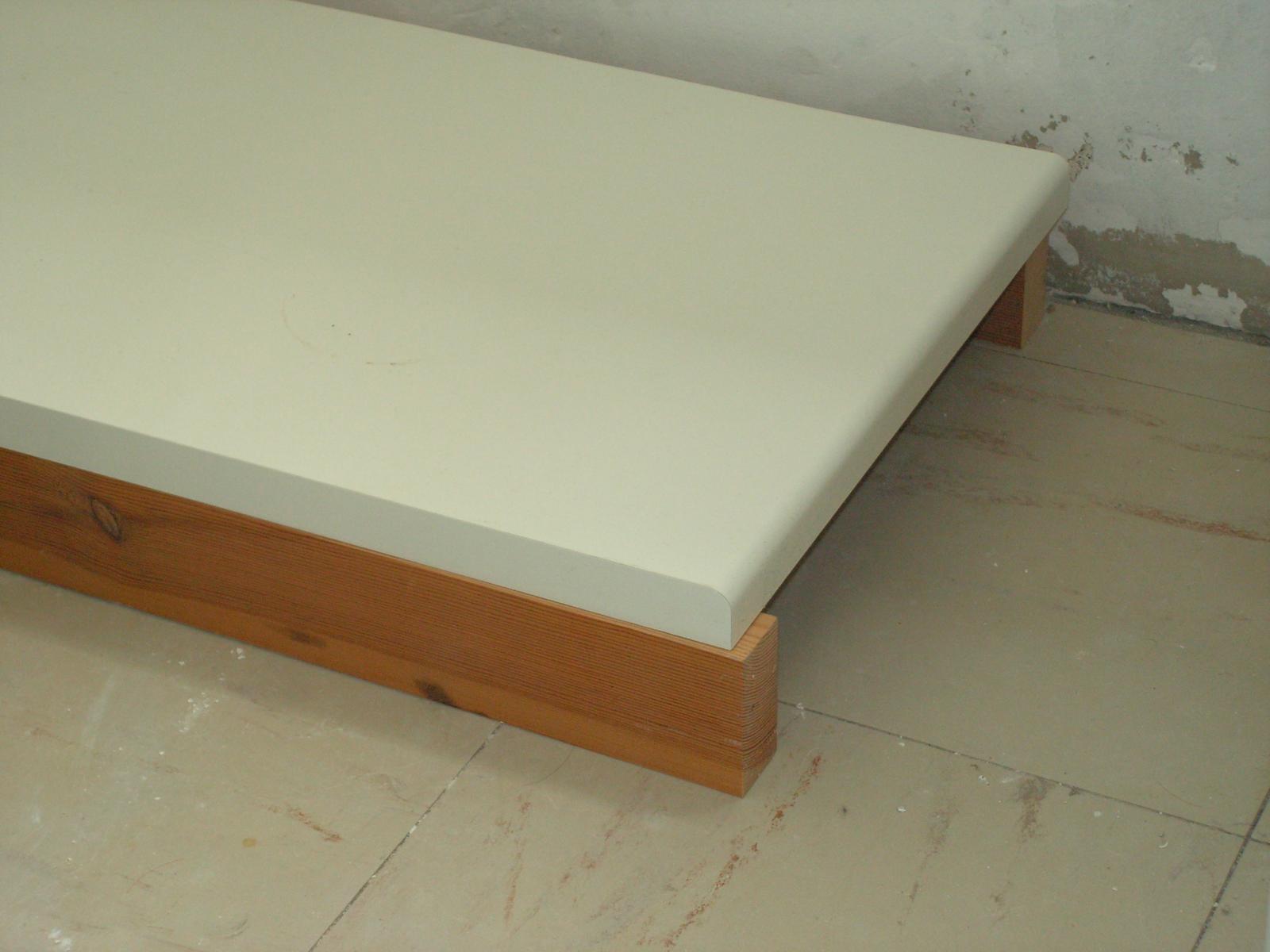 Du bois au sol dans la salle d 39 eau - Planche bois hydrofuge ...