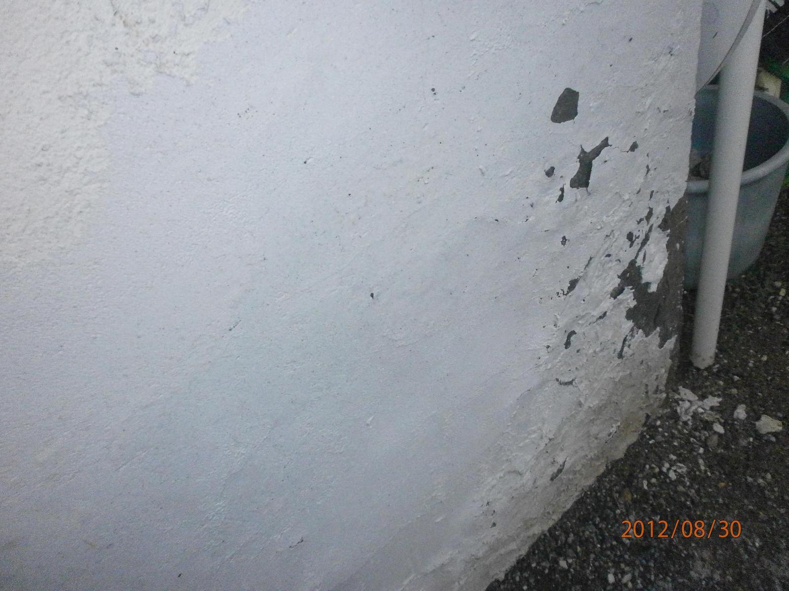 Salp tre ou pas for Salpetre sur mur exterieur