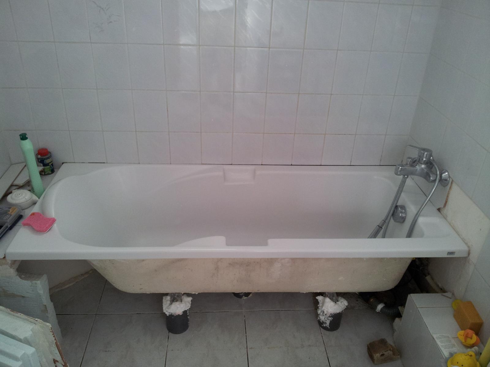 tablier baignoire, carrelé ou pas?