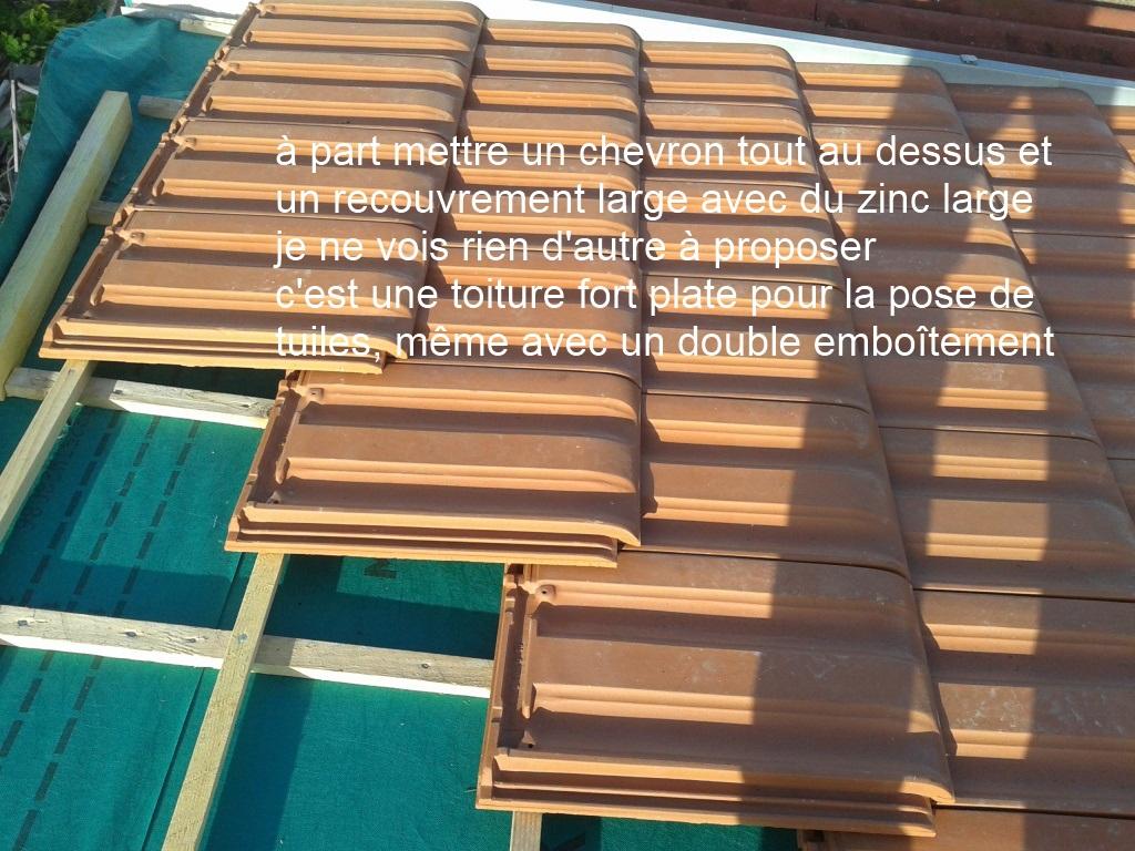 jonction au faitage et laterale toiture biais e tuile pv10. Black Bedroom Furniture Sets. Home Design Ideas