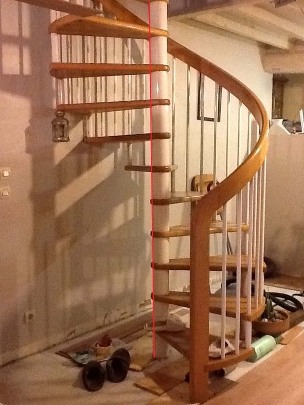 escalier en colimacon bois lapeyre