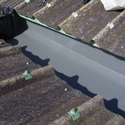 Toiture terrasse membrane pvc