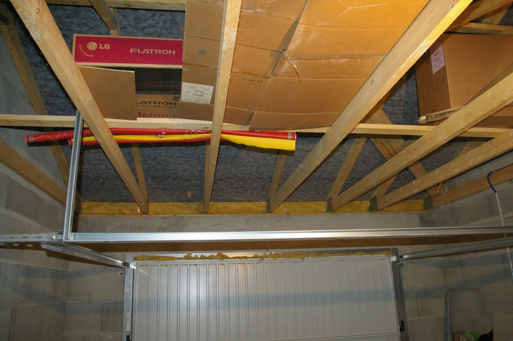 Besoin de conseil pour isolation garage for Isoler un garage plafond