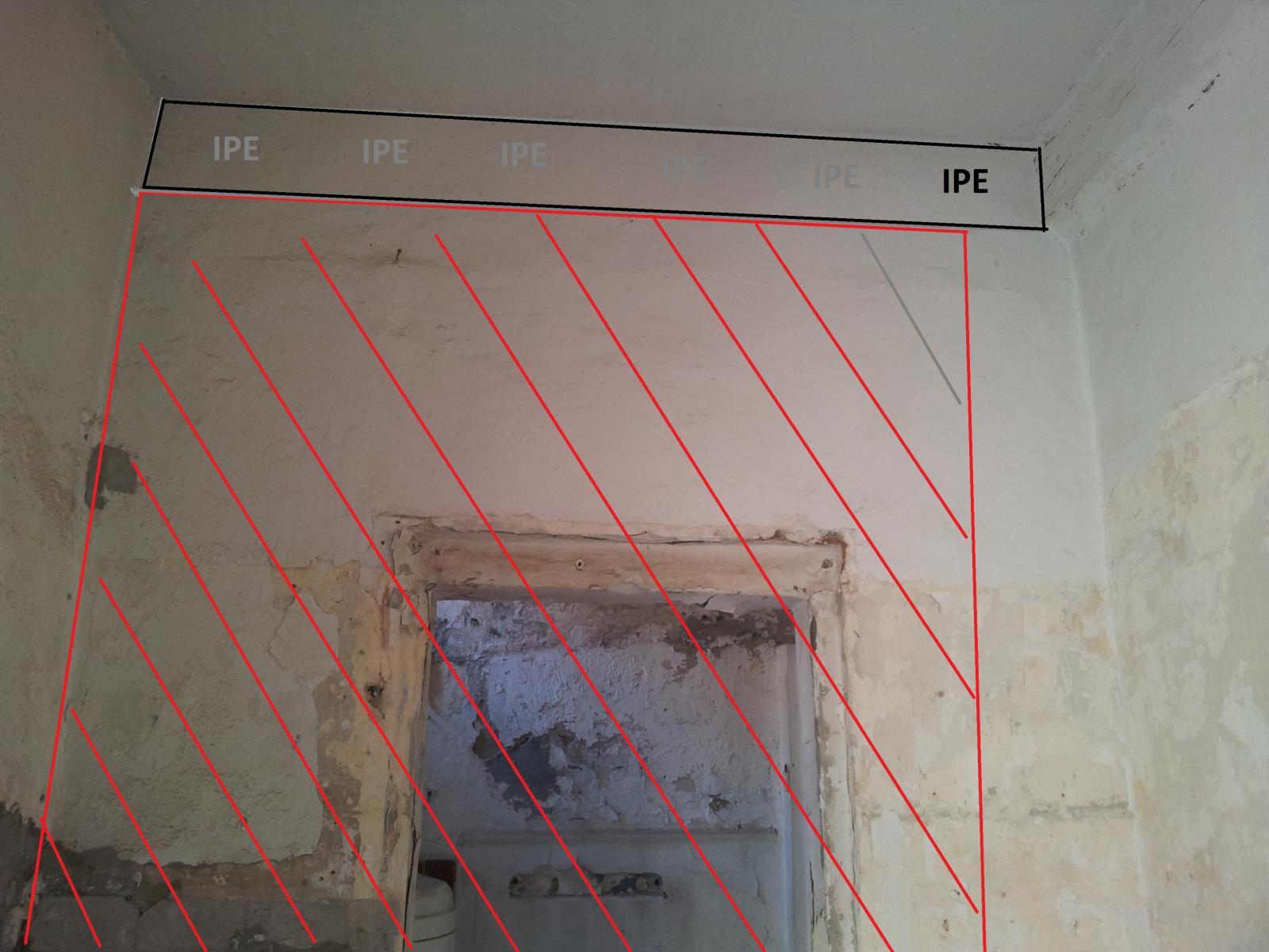 Ouverture sur un mur porteur avec ipe - Ouverture sur un mur porteur ...