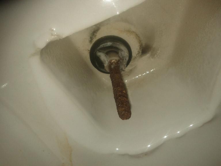 Help fixation rouill e sur l 39 abattant de mes wc - Enlever tartre dans wc ...