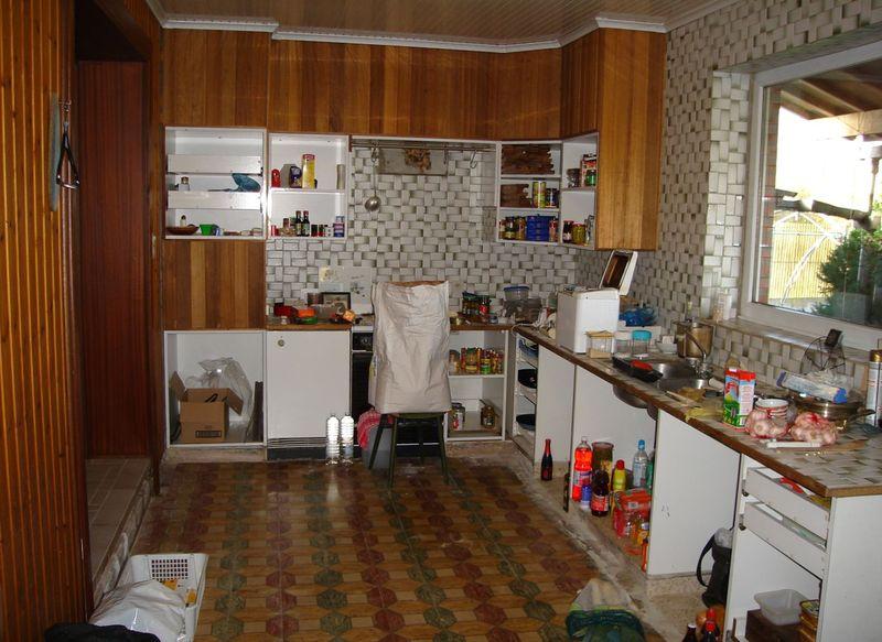 Cr er niche cuisine en placo for Cloison cuisine americaine