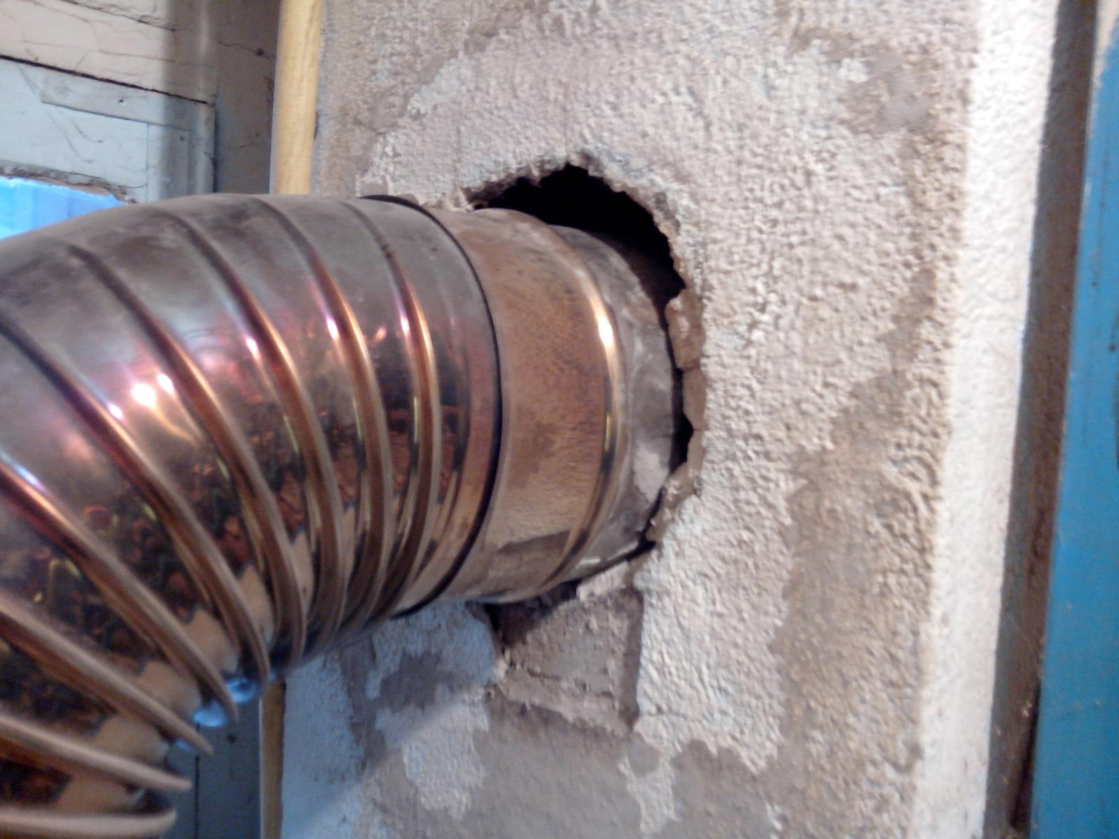 liaison chemin e tuyau de chaudi re. Black Bedroom Furniture Sets. Home Design Ideas
