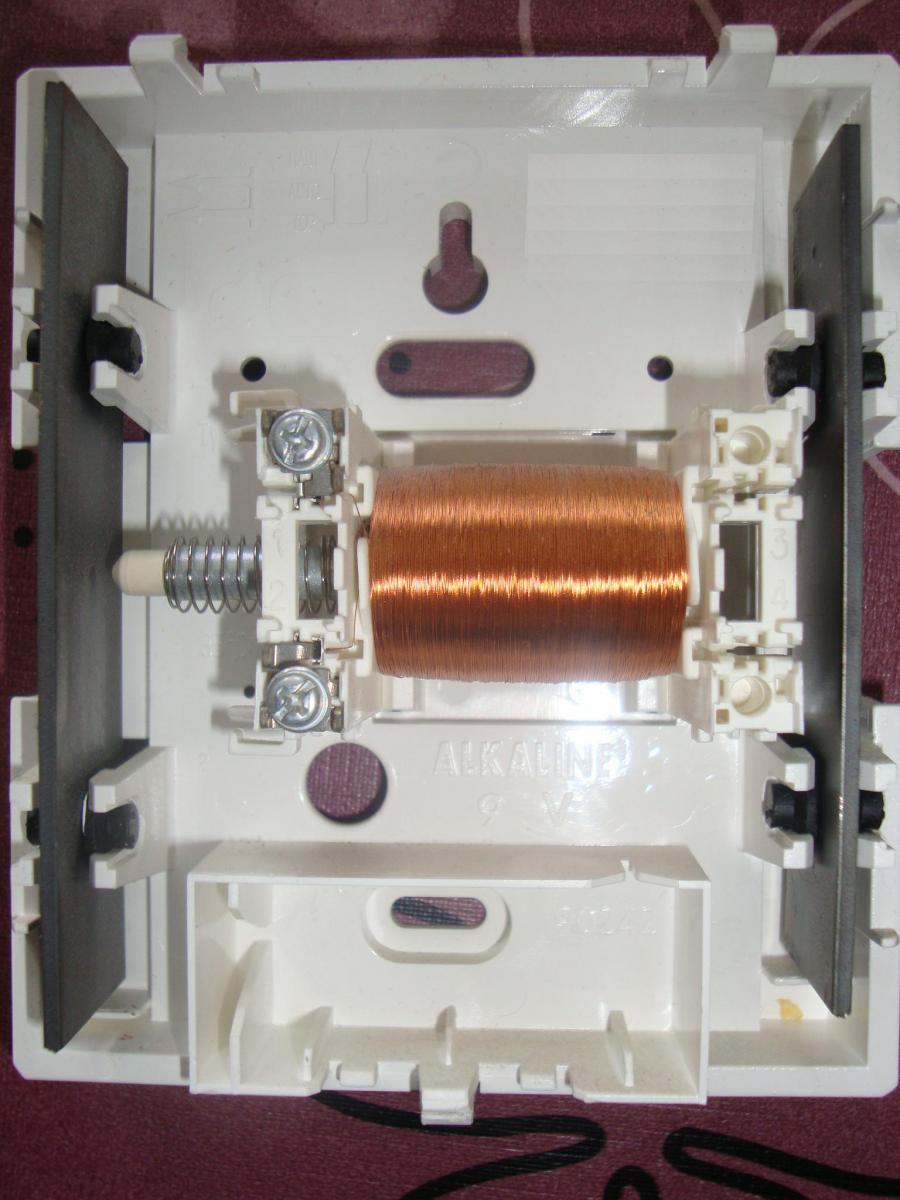 Comment reparer une sonnette de porte - Sonnette mecanique de porte ...