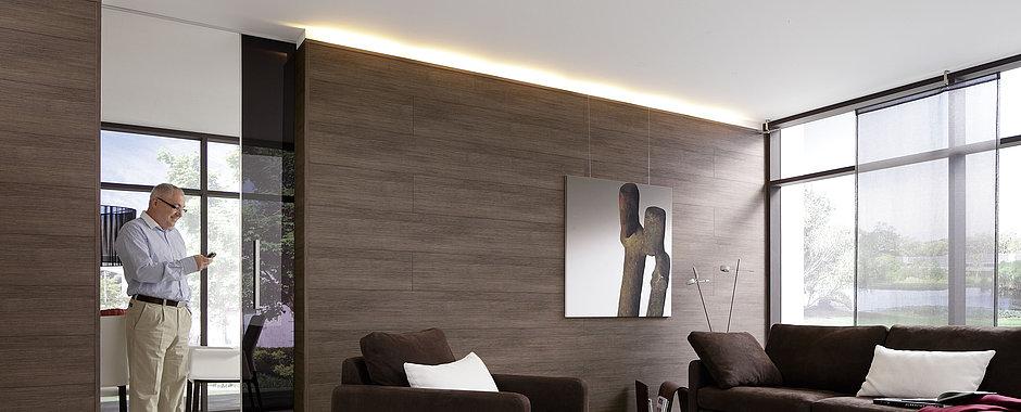 lambris bois couleur. Black Bedroom Furniture Sets. Home Design Ideas