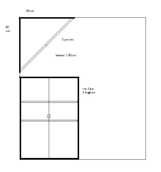 Délicieux Fabriquer Un Placard D Angle #2: Bricoleur Du Dimanche