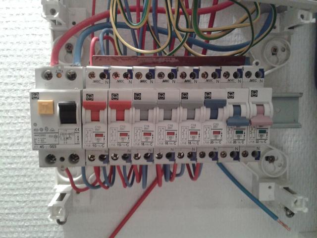Raccordement 32a tableau lectrique - Changer fusible tableau electrique ...