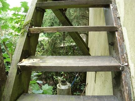 Repeindre escalier bois ext rieur for Escalier bois exterieur
