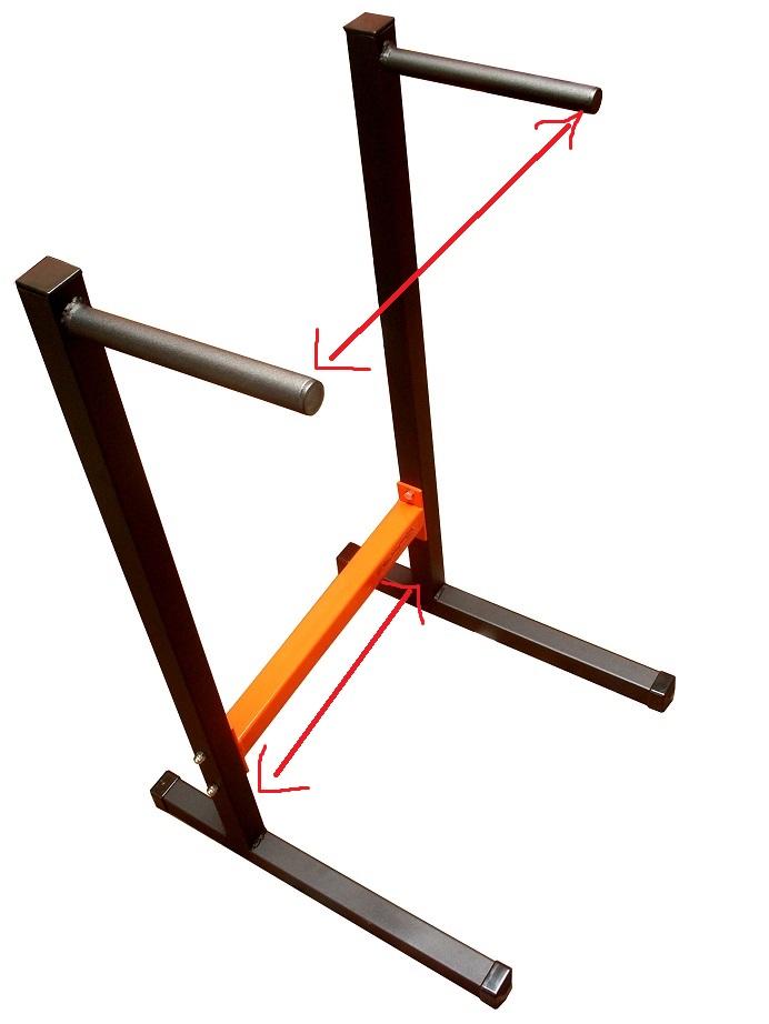 Top Elargir écartement station à dips (appareil de musculation). SP51