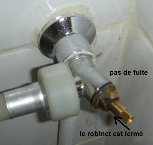 fuite filetage tête de robinet - Fuite Robinet Radiateur Chauffage