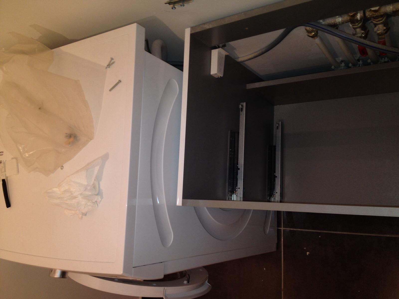 probl me pose meuble sdb suspendu alignement lave linge sous plan de. Black Bedroom Furniture Sets. Home Design Ideas