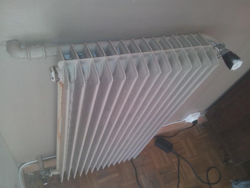 Air dans radiateurs questions sur r ducteurs et joints for Decapage de radiateur en fonte