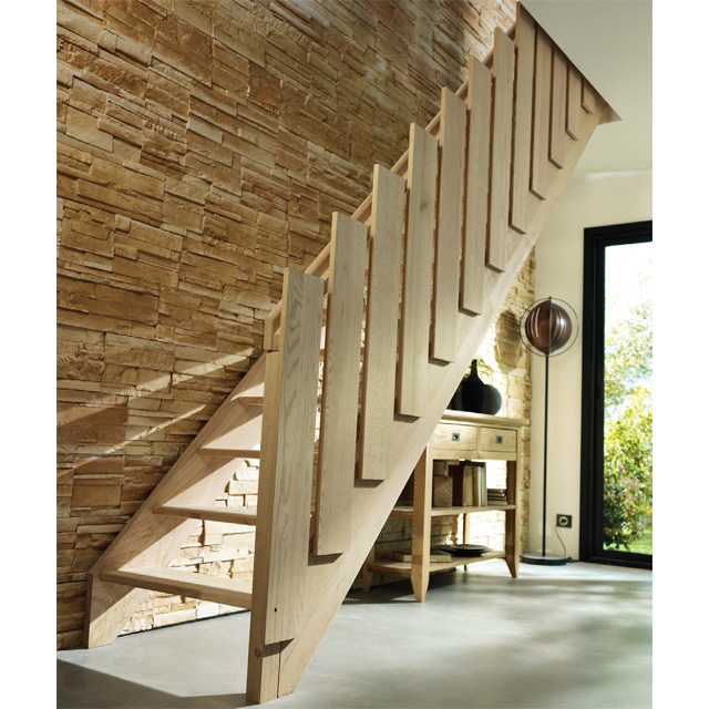 Rampe d 39 escalier pour chelle de meunier - Moderniser un escalier en bois ...
