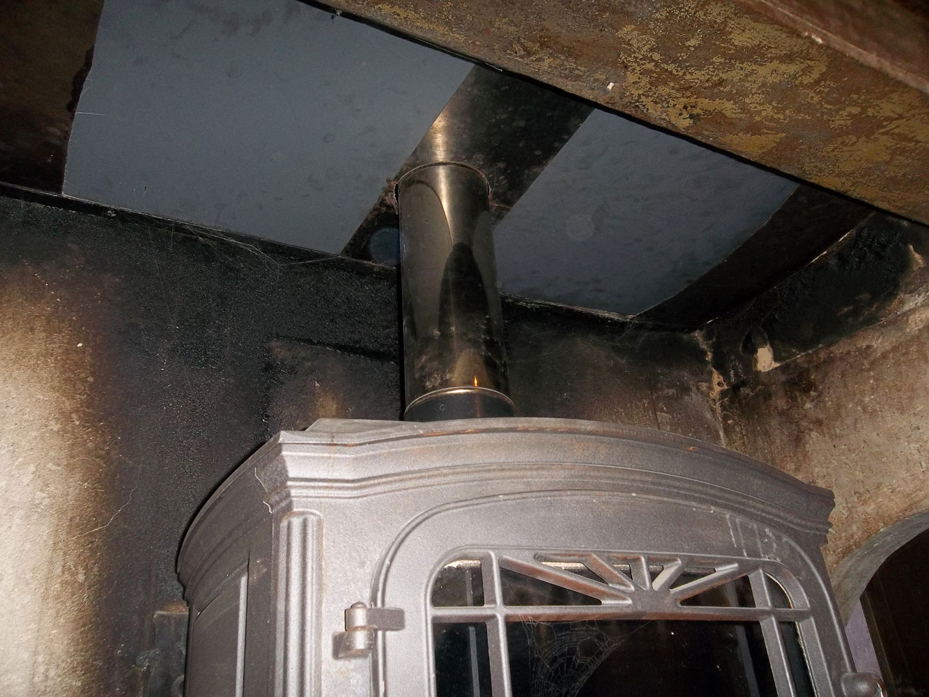 Percer une chemin e - Tubage de cheminee ...