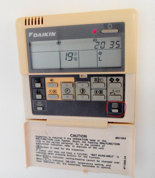 Comprendre symbole sur commande climatisation for Climatisation d interieur