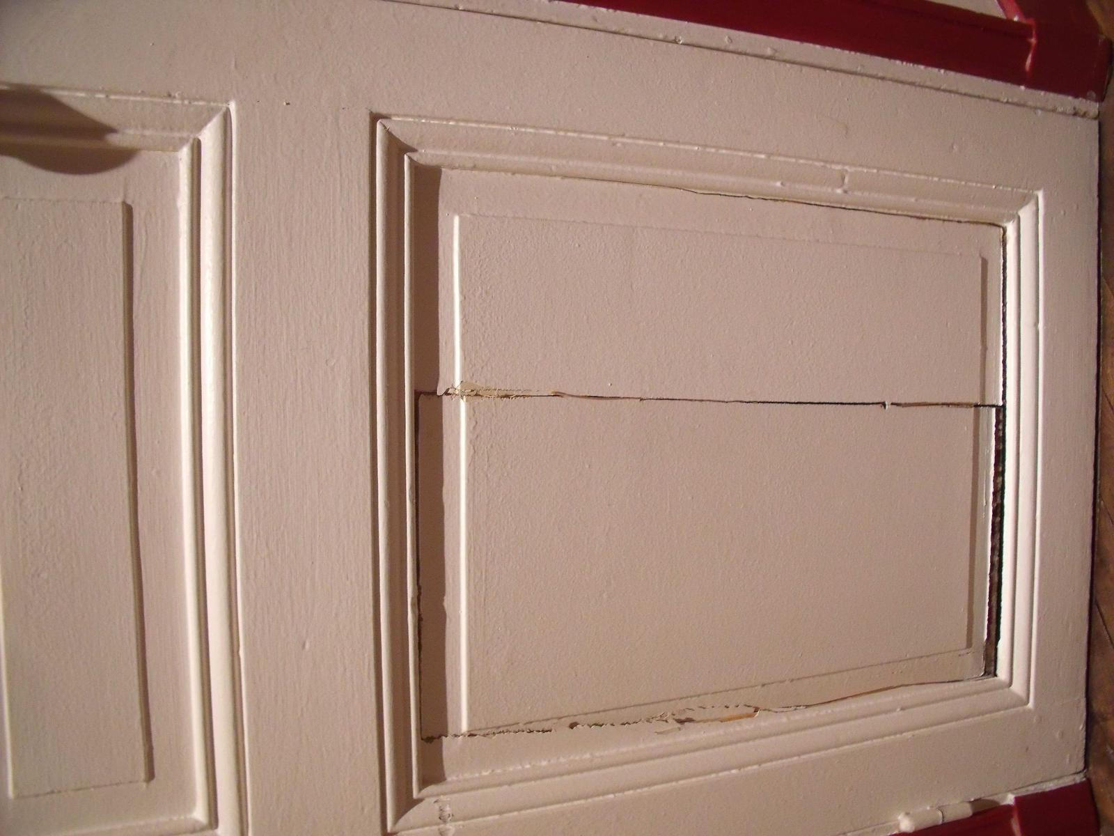 Réparer porte intérieure cassée # Réparer Une Porte En Bois