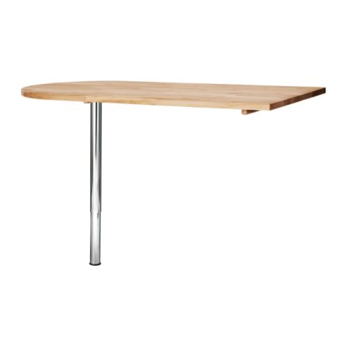 Table bar style vika byske ikea for Table de cuisine haute ikea