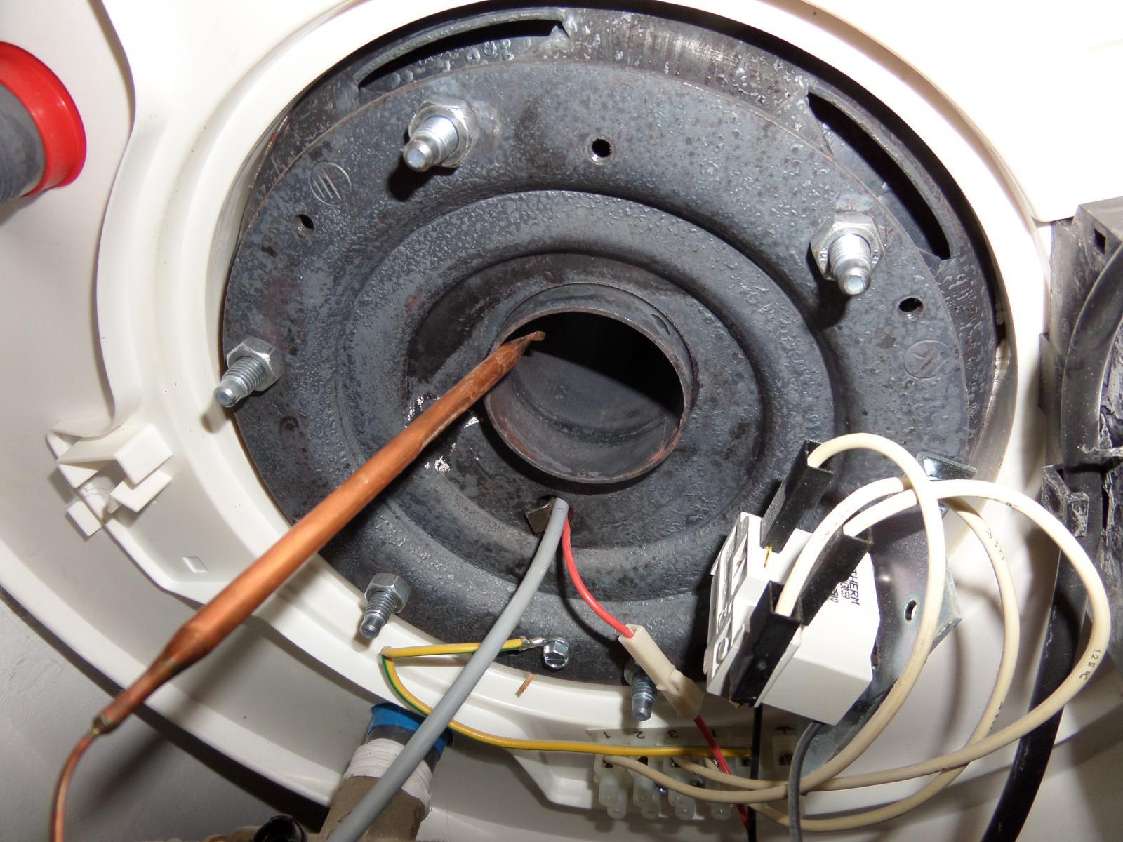 Pose r sistance st atite o mettre la sonde - Resistance pour chauffer l eau ...