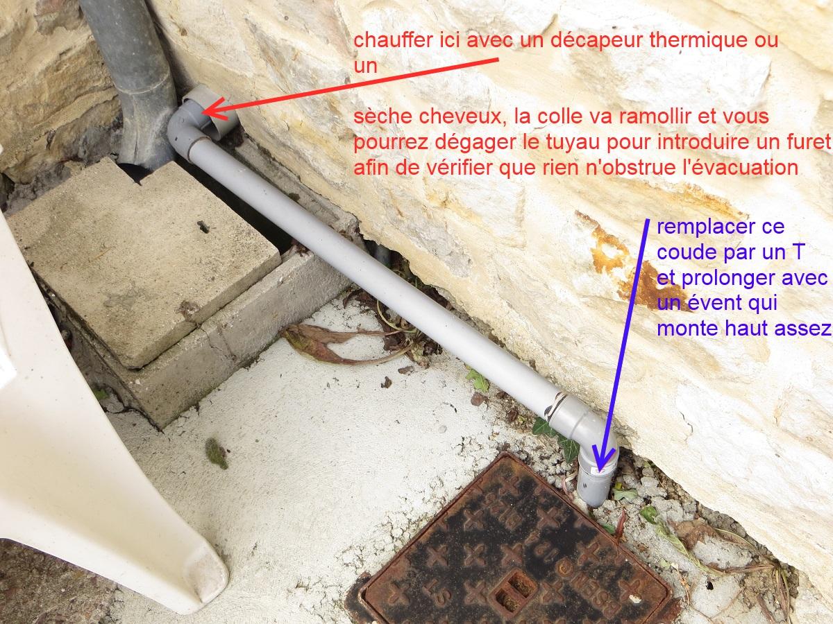 Problème Odeur Siphon Douche - Mauvaise odeur canalisation salle de bain