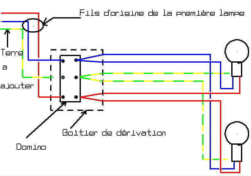 Deuxieme lumiere et interrupteur double - Comment installer un interrupteur ...
