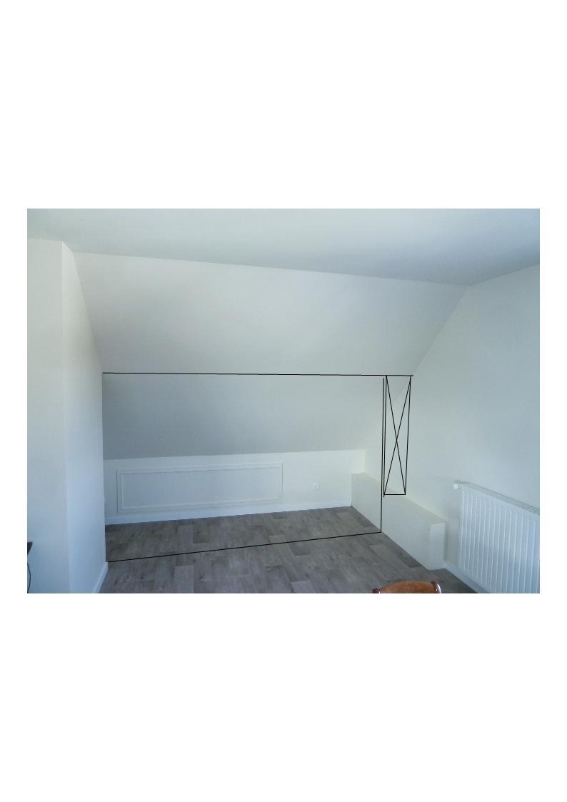 Comment installer portes placard coulissante sur plafond en - Comment installer une porte coulissante ...