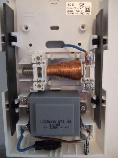 Reparation d 39 une sonnette - Brancher une sonnette avec fil ...