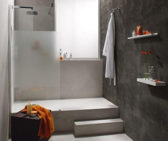 Beton et beton cellulaire pour estrade for Estrade salle de bain