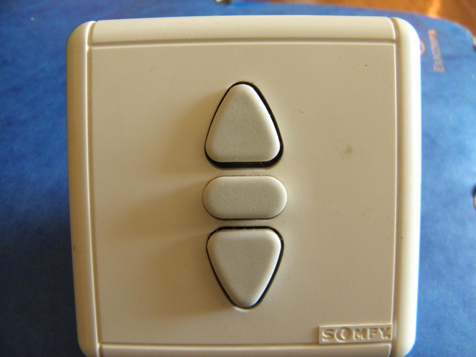 Interrupteur de volet roulant - Interrupteur bouton poussoir ...