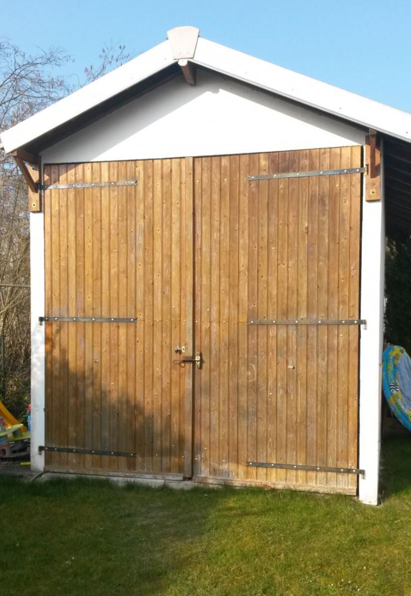 Monter un mur en parpaing la place d 39 une porte de garage for Garage de la diligence taverny