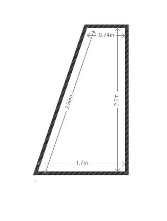 construire un placard dans espace trap zoidal. Black Bedroom Furniture Sets. Home Design Ideas