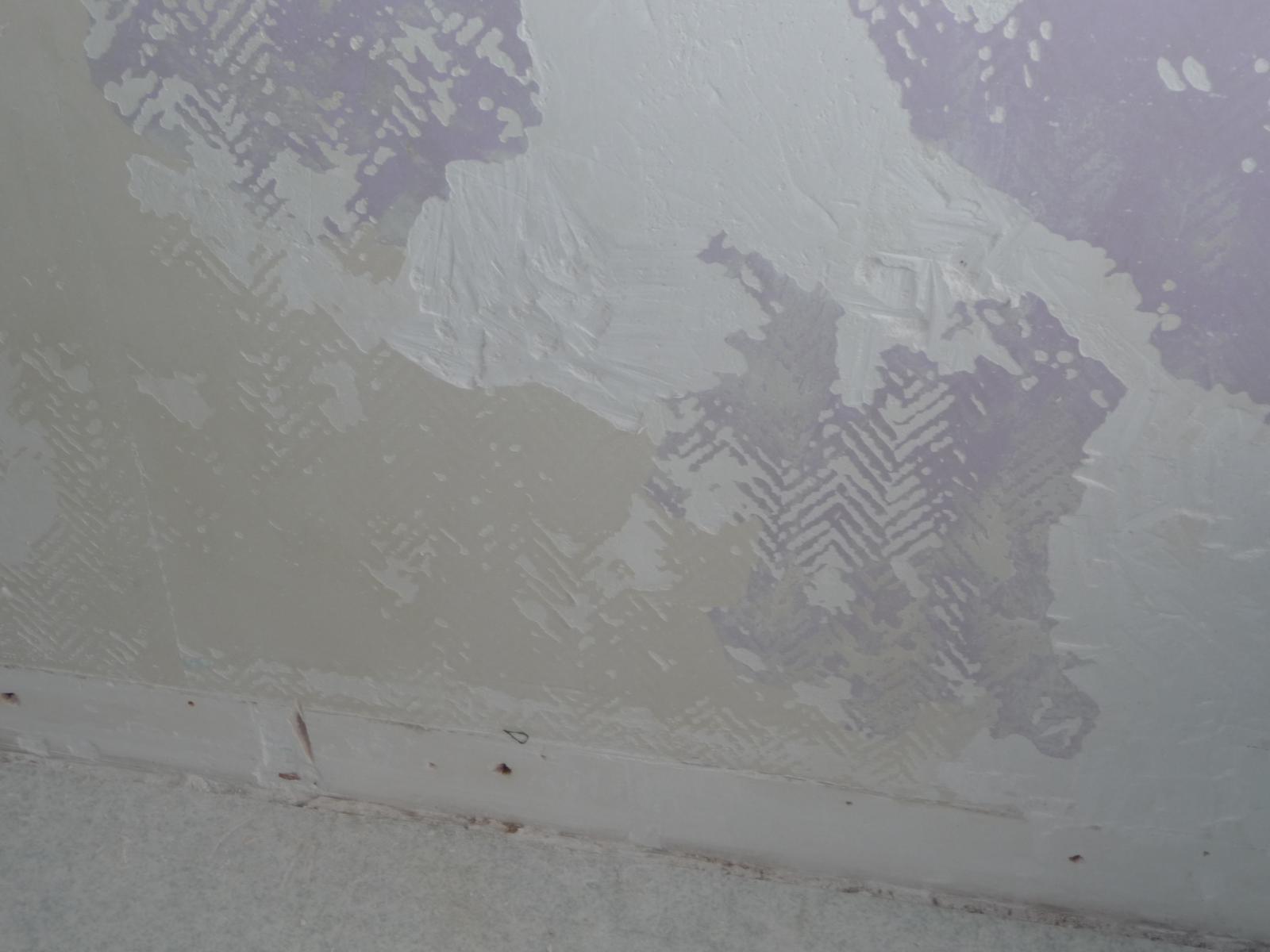 Pienture colle mur en placoplatre - Comment enlever de la colle glue sur du pvc ...