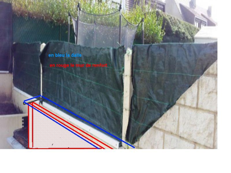 renforcer un mur mitoyen exterieure qui est en parpaing de 10. Black Bedroom Furniture Sets. Home Design Ideas