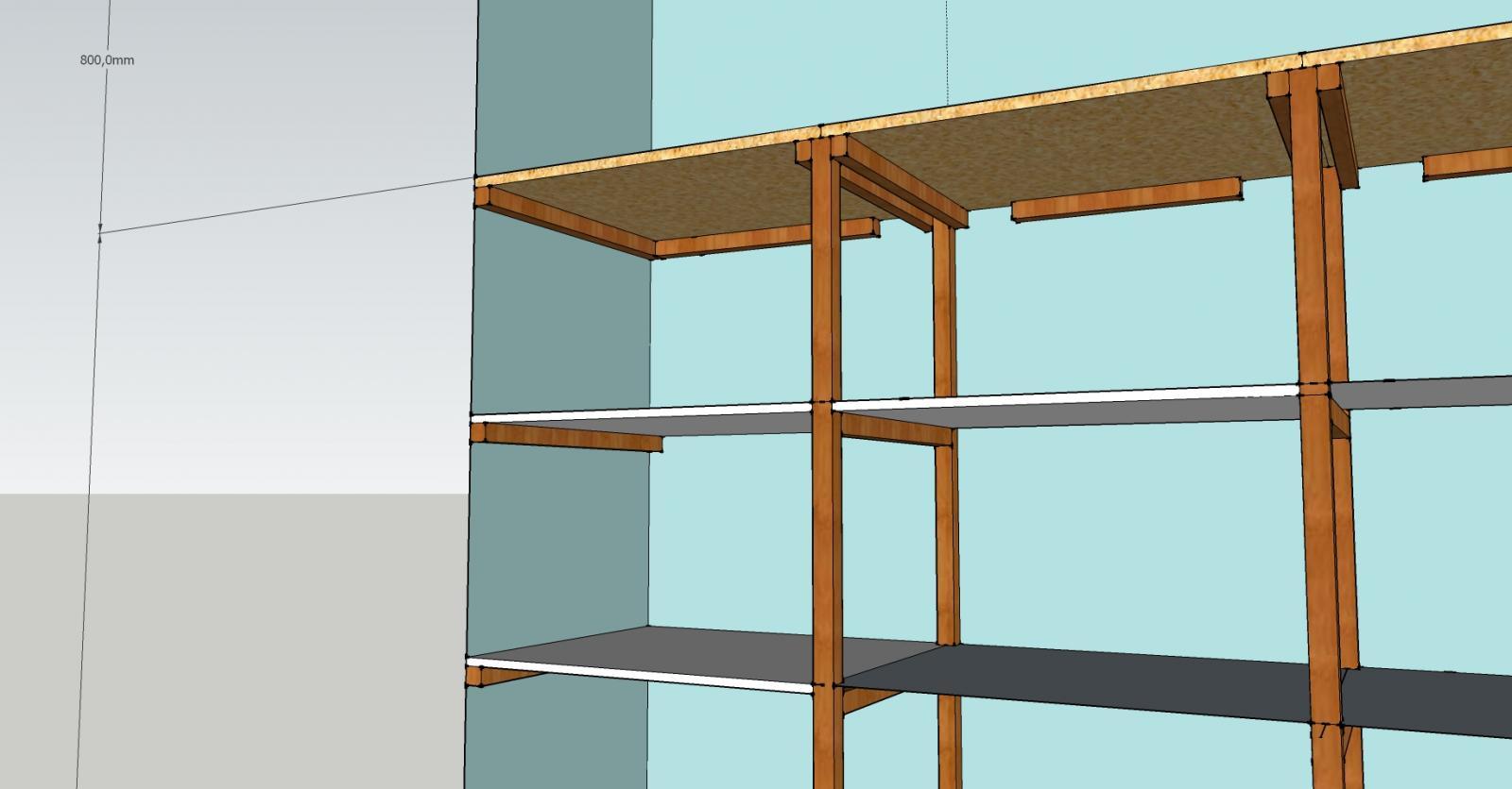 placard tasseaux. Black Bedroom Furniture Sets. Home Design Ideas