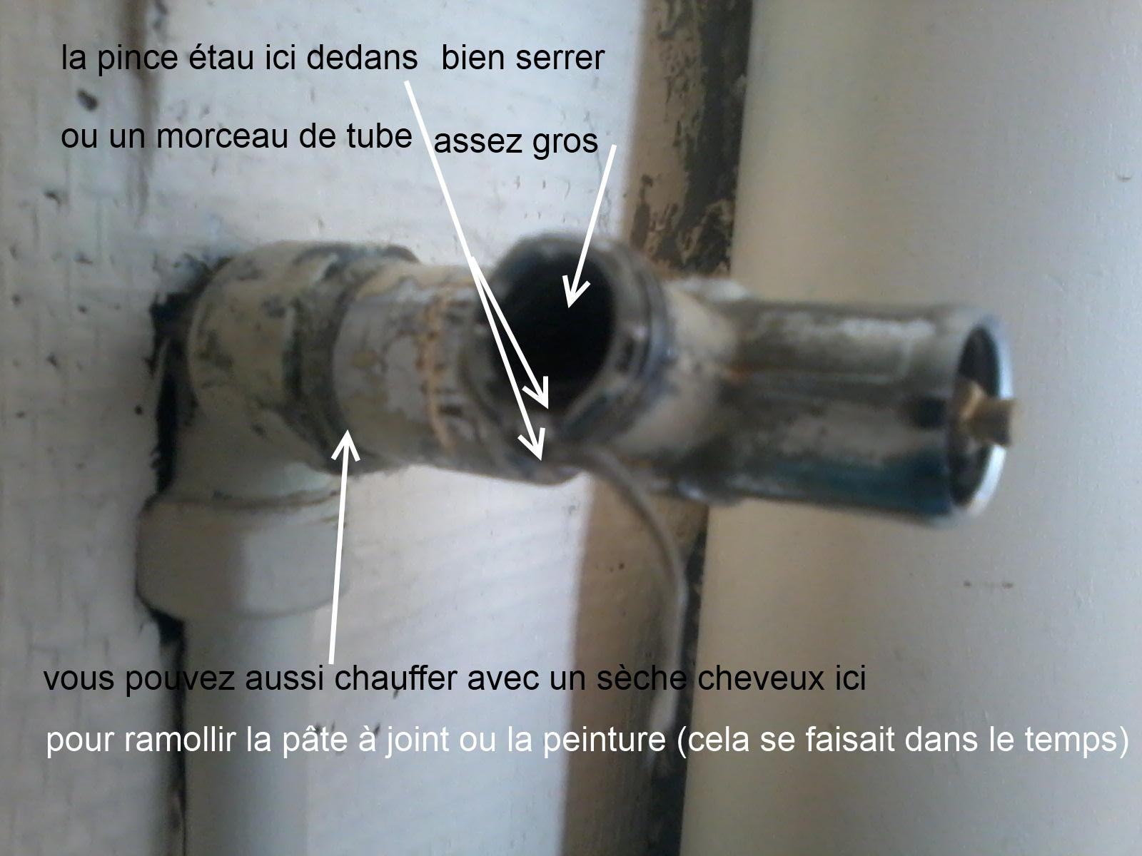 Sos comment d visser un robinet wc qui est compl tement bloqu - Comment devisser un robinet grippe ...
