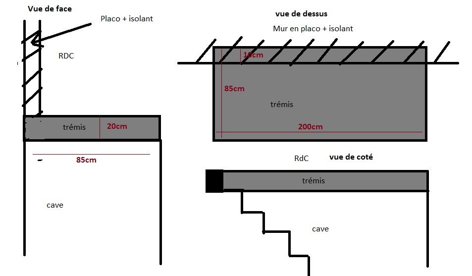 cr er trappe acc s cave. Black Bedroom Furniture Sets. Home Design Ideas