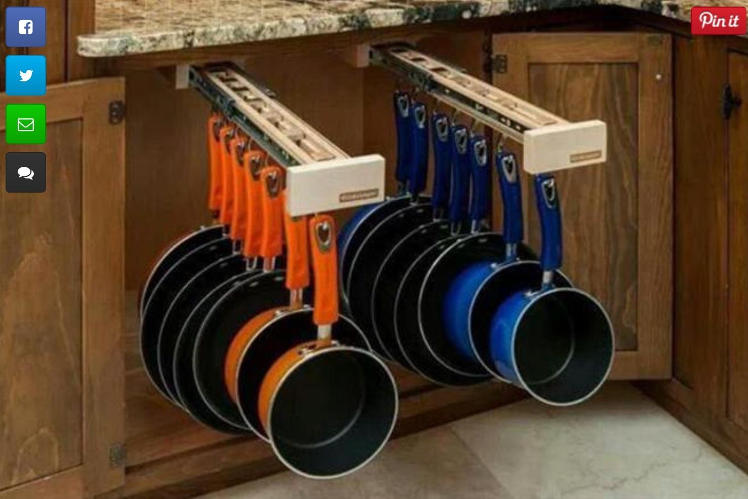 Kitchen Storage Cupboard Ideas