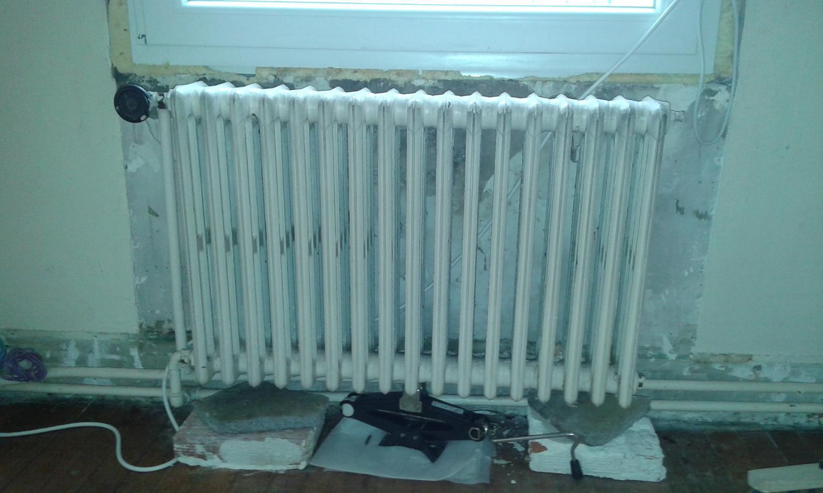 démonter vieux radiateur en fonte - Comment Peindre Un Radiateur Sans Le Demonter