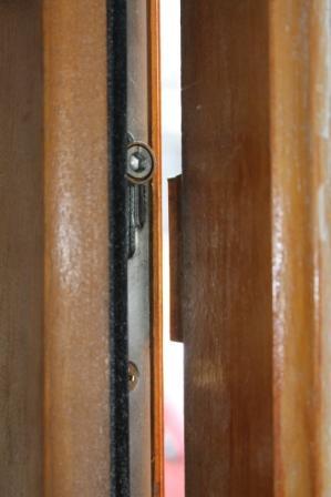 Probl me reglage des gonds de la porte d 39 entr e - Reglage porte d entree 5 points ...