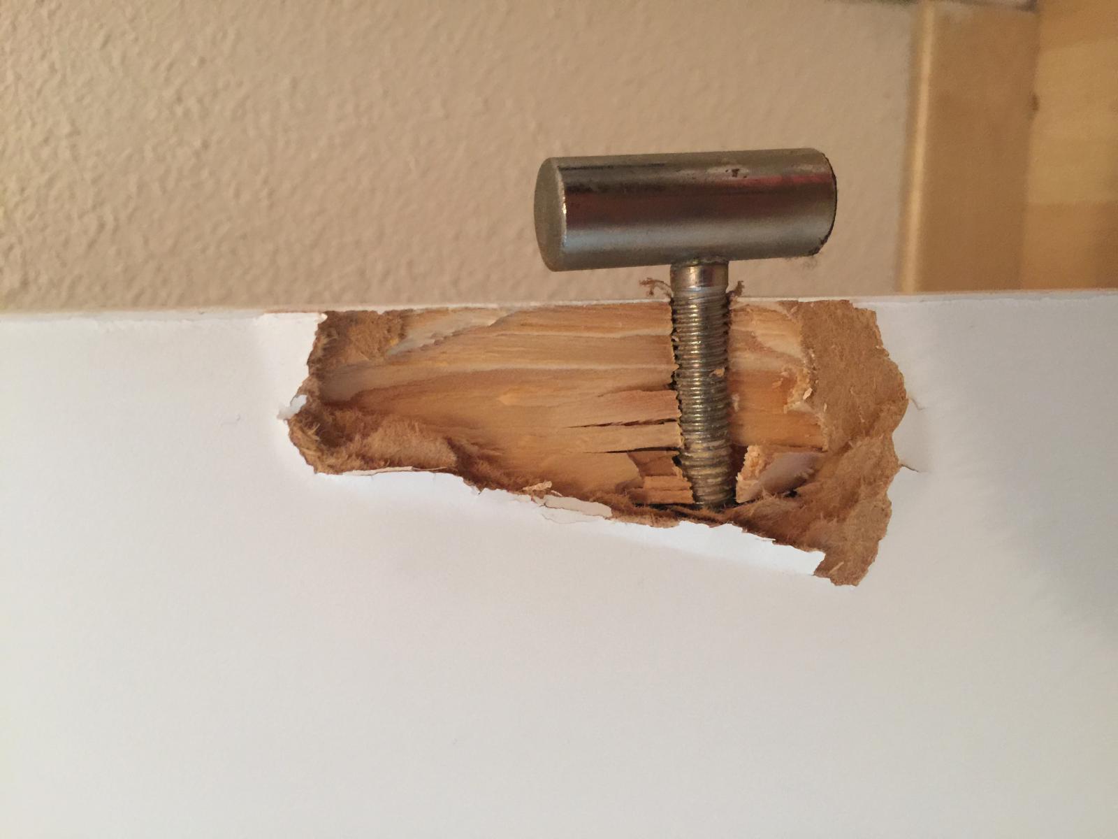 Trou Dans Une Porte Intérieure - Reparer un trou dans une porte