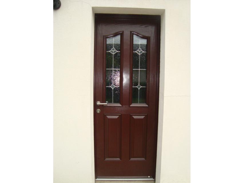 repeindre ou revernir une porte d 39 entr e en bois