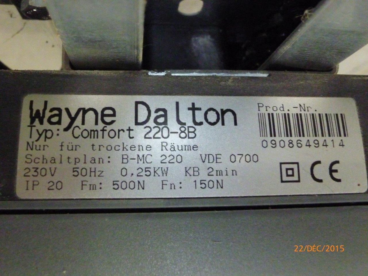 Motorisation Porte De Garage Sectionnelle Wayne Dalton