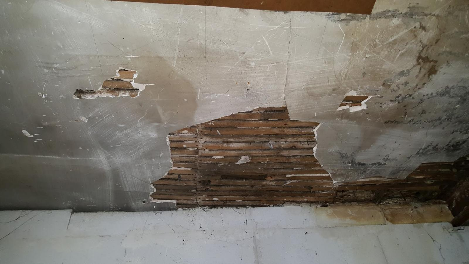 Réparer Un Plafond En Platre avec questions plafond lattis :)