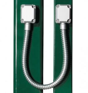 Comment passer un fil d 39 alimentation dans une porte creuse - Comment passer un cable dans une gaine ...