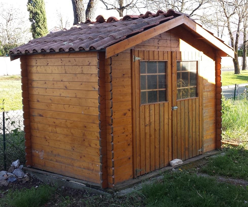 Mauvaise installation d 39 un cabanon en bois for Prix cabanon en bois
